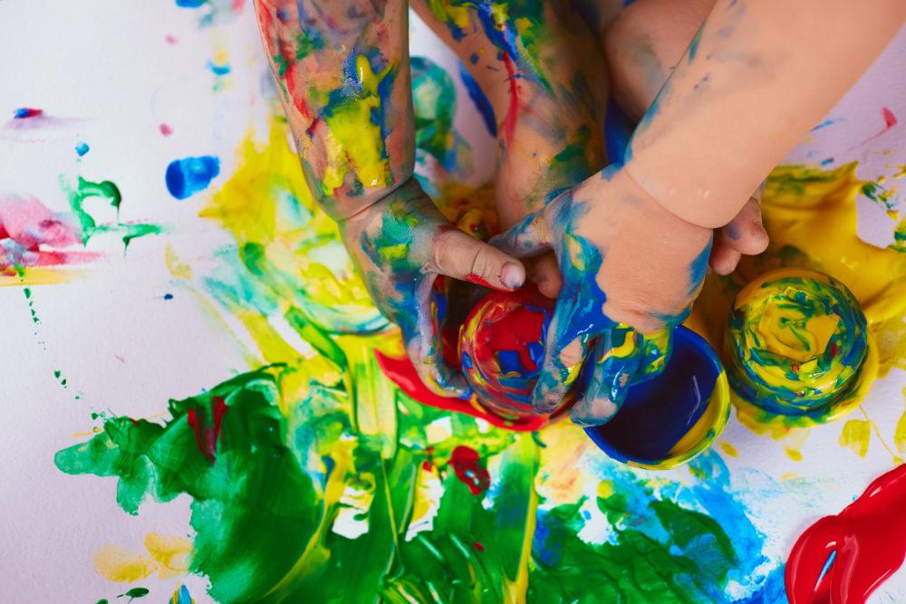 ペイント フィンガー 指で描ける絵具フィンガーペイント